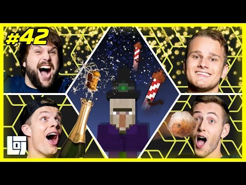 Minecraft met Enzo Jeremy Ronald en Sam New Year Special XL Battle LOGNL 42