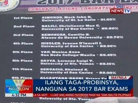 Xxx Mp4 BP Ilang Taga Probinsya Nanguna Sa 2017 Bar Exams 3gp Sex