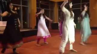 Punjabi Wedding Reception Dance - Bridesmaids