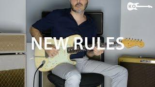 Dua Lipa - New Rules - Electric Guitar Cover by Kfir Ochaion