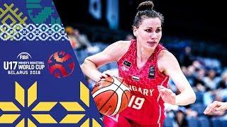 LIVE 🔴- Argentina v Hungary - FIBA U17 Women's Basketball World Cup 2018
