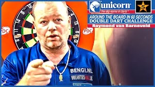 Raymond van Barneveld - Team Unicorn Double Dart Challenge