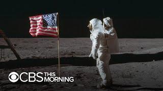 The history of the Apollo 11 moon landing
