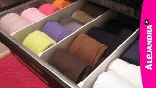 How to Organize Dresser Drawers & Fold Underwear, Bras, and Socks