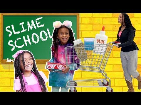 Slime School Field Trip Pretend Teacher FAIL New Toy School