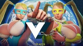 Street Fighter V PC mods - Big Size Mika by kalevra
