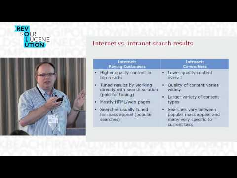 Beyond simple search -- adding business value in the enterprise