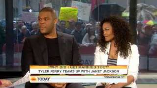 Today Show::...Janet Jackson, Tyler Perry..::Why Did I Get Married Too? Promo
