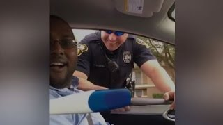 Bystander: Man Gets Pulled Over For Pregnancy Announcement