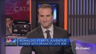 Cristiano Ronaldo makes a winning start at Juventus | CNBC Sport