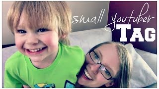 Small Youtuber Tag | The Pregnant Doula | Young Mom