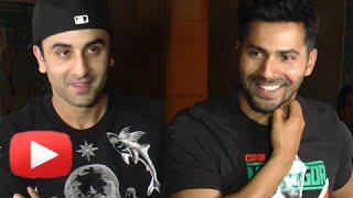 (UNCUT) Ranbir Kapoor, Varun Dhawan At Kapoor & Sons Special Screening - Celeb Review