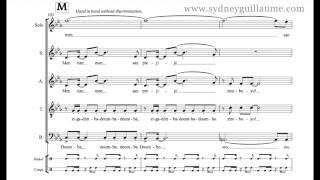 Kanaval by Sydney Guillaume {score video}