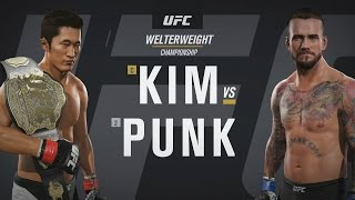 CM Punk UFC 2 My Career Mode - Ep. 6 -
