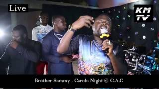 BROTHER SAMMY had an awesome time @ C.A.C Carols Night 2016