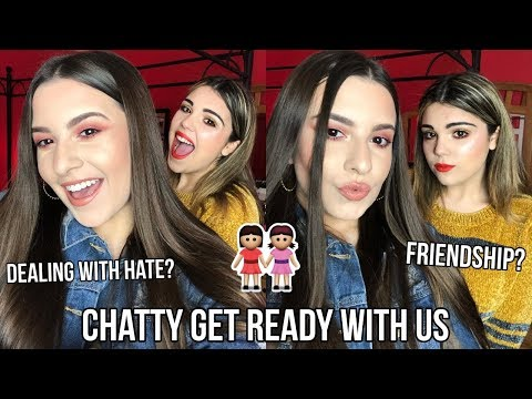 CHATTY GET READY WITH US | Dealing With Hate, Friendship, + Insecurities | Jackie Ann