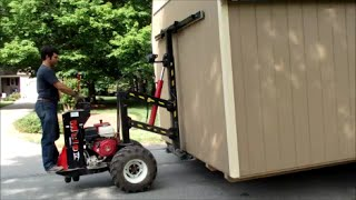 One Man Show - Delivery & Set up of 12x20 Amish Shed