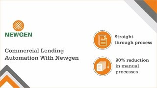 Commercial Lending Automation Software by Newgen