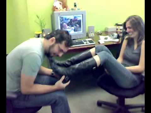 foot fetish at the office