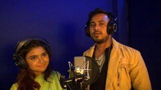 Boba mon song recoding  singer robi kiron & bristi