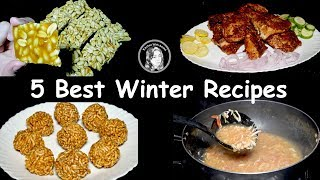 5 Best Winter Recipes by Kitchen With Amna