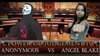 CFW Power Of Judgement IV - Anonymous vs Angel Blake