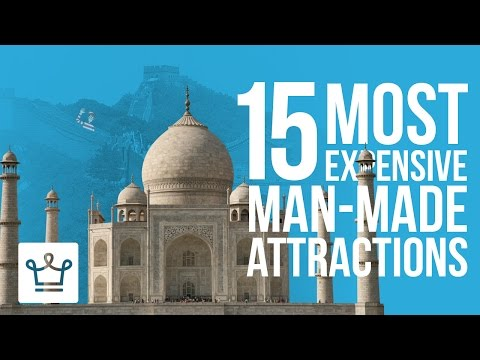 watch 15 Most Expensive Man-Made Attractions In The World