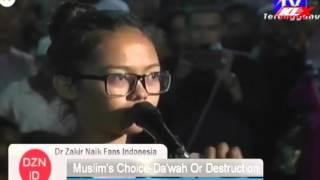 Saat Penganut Kristian DiIslamkan Oleh Dr zakir Naik Di Terengganu