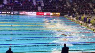 Men's 100m Freestyle Final Fina World Championships Windsor 2016