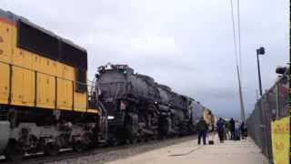 The UP 4014 Project - May 8, 2014