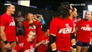 WWE DRAFT 2011-FIRST PICK ON RAW-John Cena drafted to Smackdown