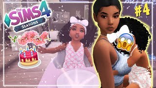 OUR FIRST BORN 🎂👶 // THE SIMS 4 SEASONS #4