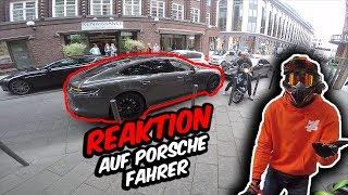 Reaktion auf Porsche Fahrer - Er fährt falsch!? - Drift Vlog mit Blackout