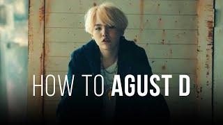 How to 'Agust D' (Easy Lyrics + Slow Mode)