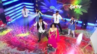 Aashona  Borbaad Movie song  Satv Eid Dance Program  Nusraat Faria Mazhar HD
