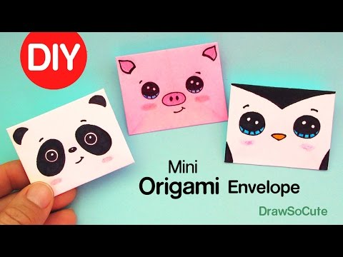 Xxx Mp4 How To Make A Mini Origami Envelope Super Easy 3gp Sex