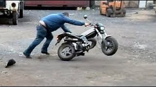 Best Indian Bike Stunt Fail in India 2016 It happens only in India   Fun & Entertainment