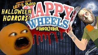 Annoying Orange Plays - HAPPY WHEELS: Halloween Horrors! #Shocktober