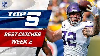 Top 5 Catches of Week 2   2017 NFL Highlights