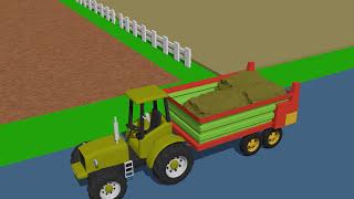 Video Compilation about Children's Tractors | Wideo Kompilacja o Traktorach dla dzieci