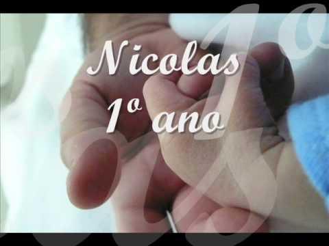 Retrospectiva Infantil Nicolas 1 Ano Video Oficial