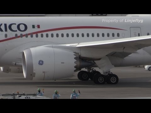 AeroMexico Boeing 787 8 N964AM Narita