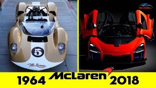 McLaren Evolution From 1964 - 2018 ✨ Cars History