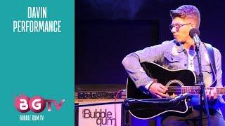 Davin Herbrüggen - The River - Live Akustik | Bubble Gum TV