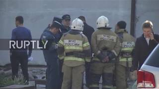 Russia: Emergency operation continues at Kerch college attack site