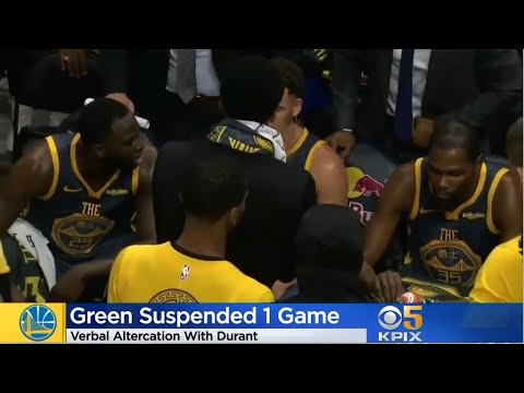 Xxx Mp4 Draymond Green Suspended After Heated Argument With Kevin Durant 3gp Sex