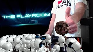 PlayRoom na PS4 - Zabawa z robocikami (Playstation Kamera)