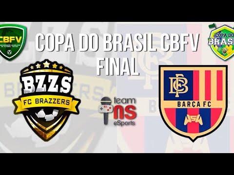 CBFV - FINAL COPA DO BRASIL 1 EDIÇÃO - BRAZZERS X BARÇA