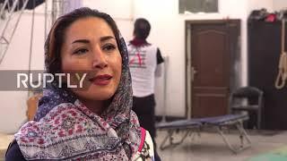 Female stunt performer pushes boundaries in Iran