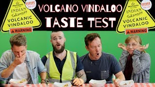Naga Vindaloo Taste Test